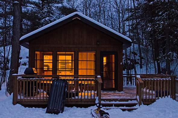 پنج کمپ با امکانات گرمایی نزدیک تورنتو