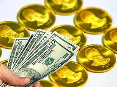 تغییر قیمت انواع سکه و ارز در بازار آزاد