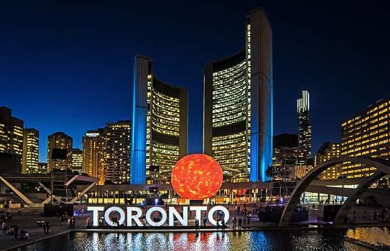 رویداد Nuit Blanche سی سپتامبر در نقاط مختلف تورنتو