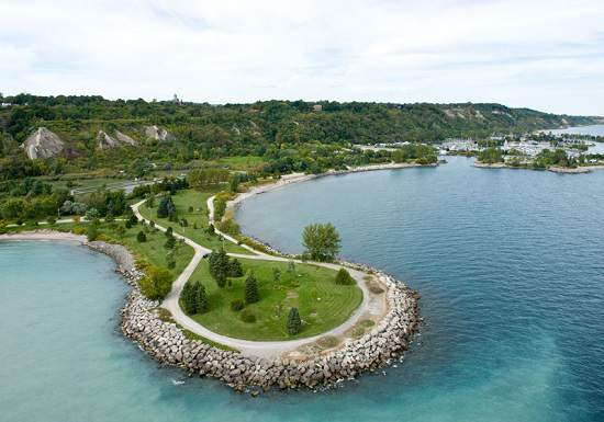 این پارک زیبا یکساعت با تورنتو فاصله دارد- Cudia Park