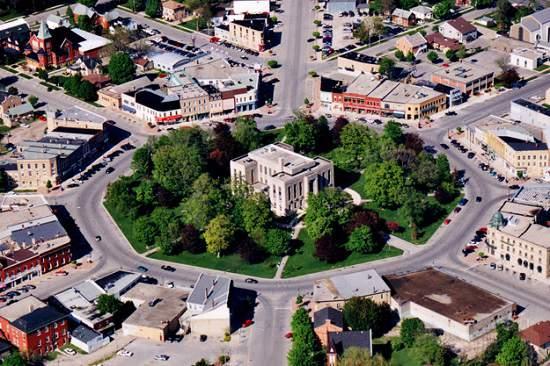 این شهر کوچک و زیبا دوساعت با تورنتو فاصله دارد، Goderich