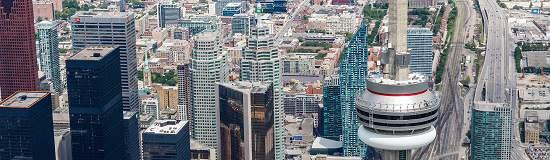 پرواز بر فراز تورنتو ، تور هلیکوپتری