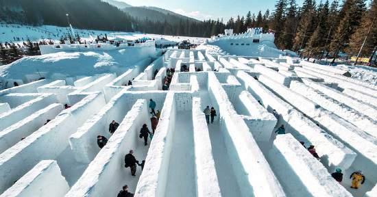 بزرگترین مارپیچ برفی جهان، آخر این هفته در انتاریو