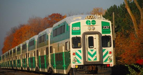 سفر با قطار از تورنتو به نیاگارا از ژانویه 2019