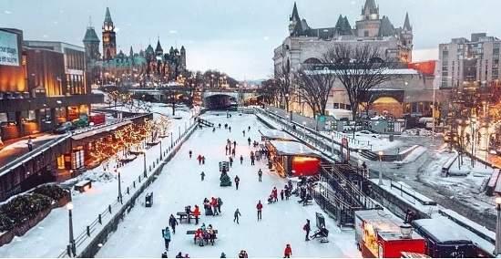 طولانی ترین پیست اسکیت جهان و سرگرمی های آن 4 ساعت تا تورنتو