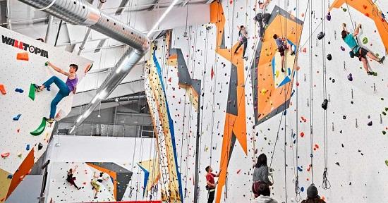 افتتاح بزرگترین سالن صخره نوردی کانادا در میسی ساگا