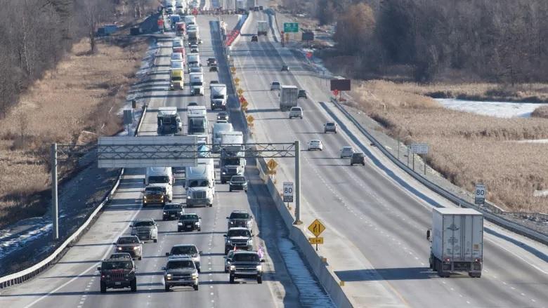 افزایش طرعت مجازی در بعضی از بزرگراه های انتاریو