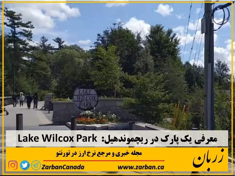 معرفی یک پارک در ریچموندهیل Lake Wilcox Park